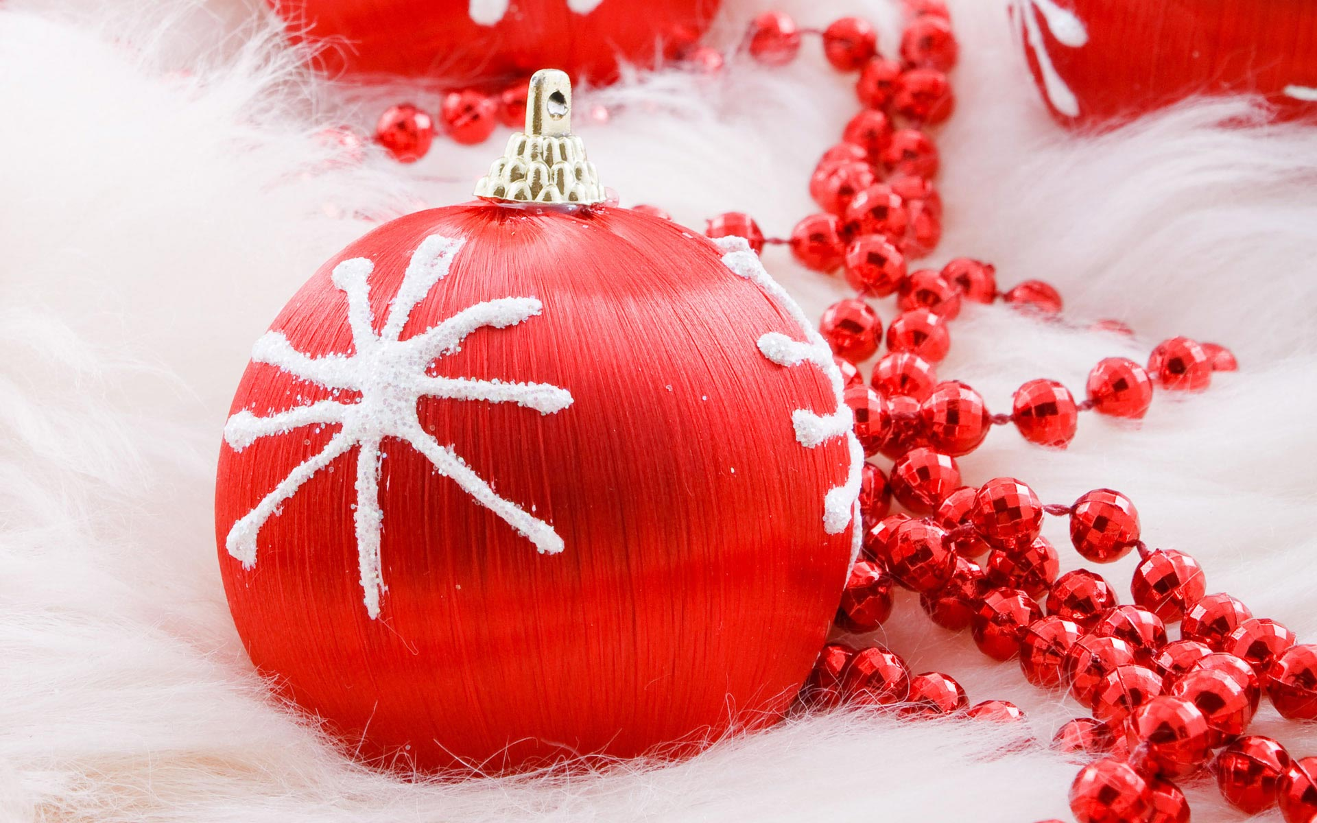 Sfondi Natale - Sfondo Desktop Palline di Natale