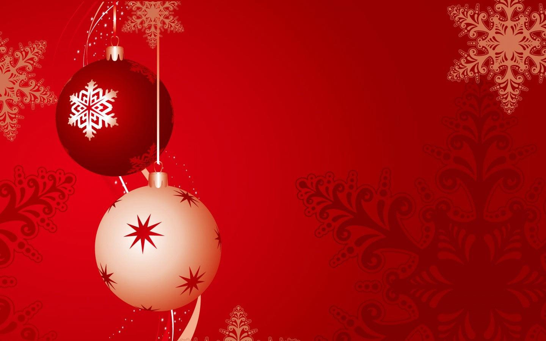 Sfondi Natale - Sfondi di Natale palline decorate