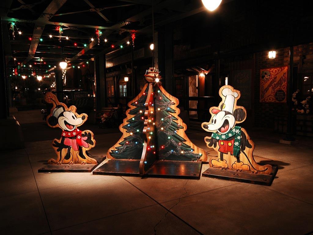 Sfondi Natale - Sfondo di Natale Topolino