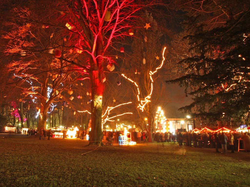 Sfondi Natale - Sfondo Natale Paesaggio