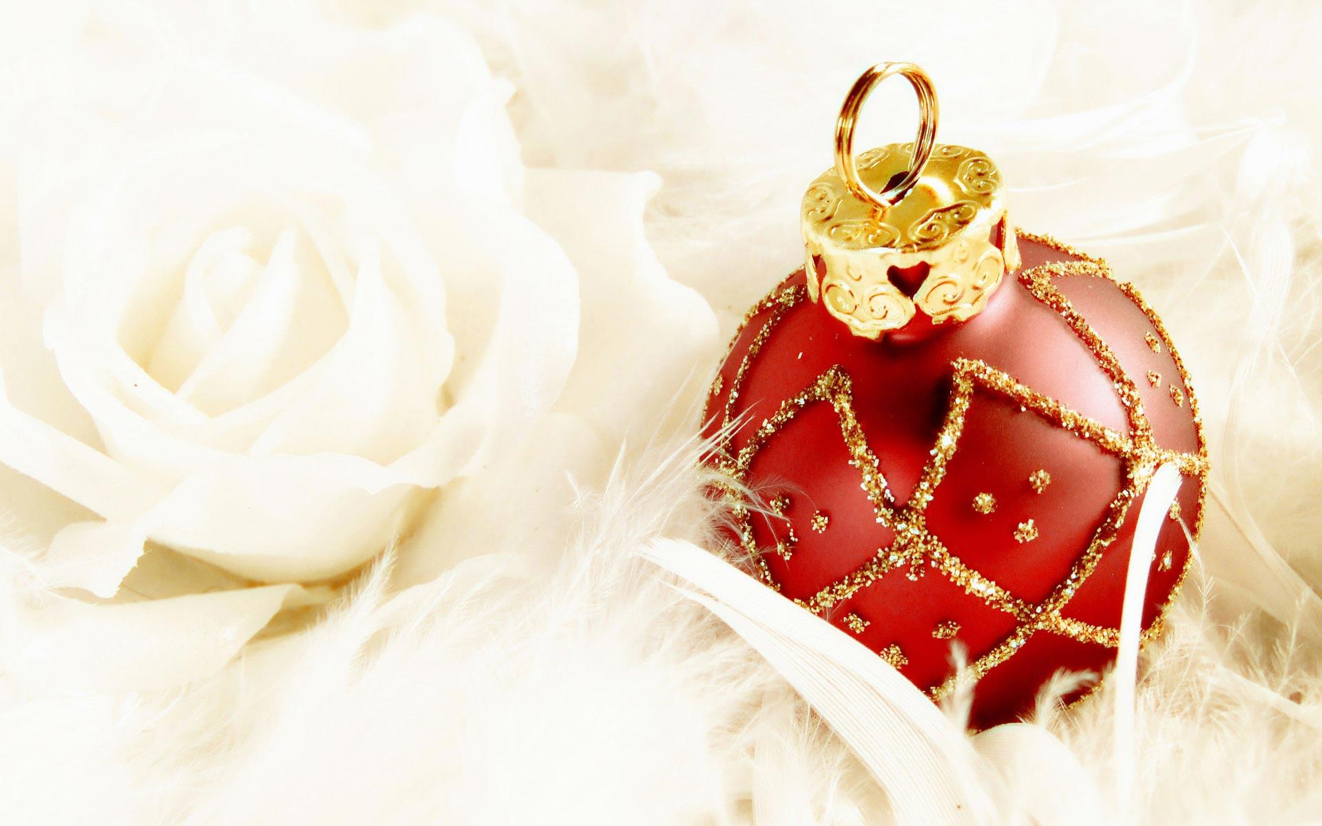 Sfondi Natale - Sfondo Natale Pallina
