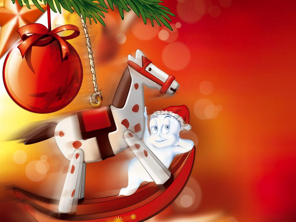 Sfondi Natale - Sfondo Natale rosso