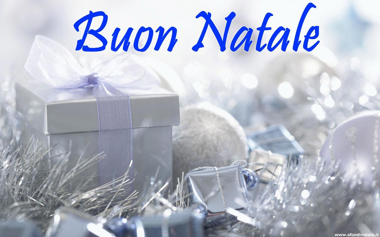 Sfondi Natale - Sfondo Buon Natale con doni