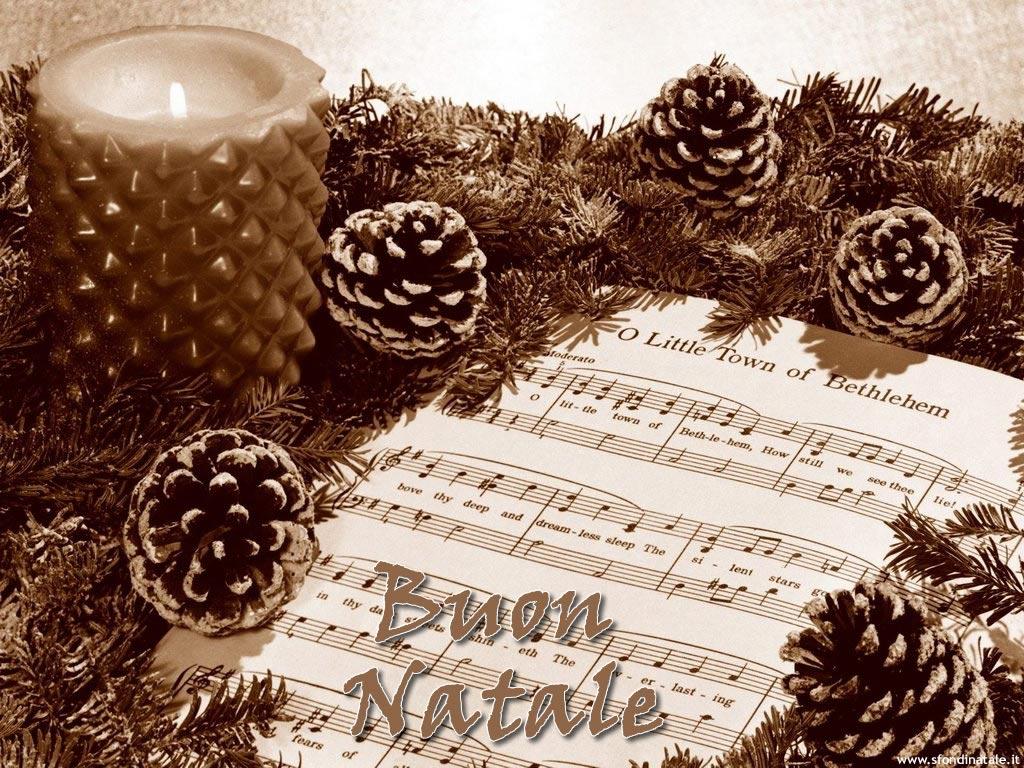 Sfondi Natale - Sfondo natalizio Pigne