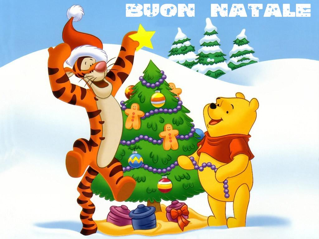 Sfondi Natale - Sfondo desktop Natale Pooh