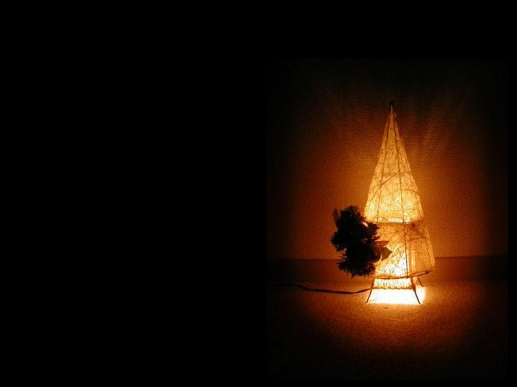 Sfondi Natale - Sfondo di Natale lampada