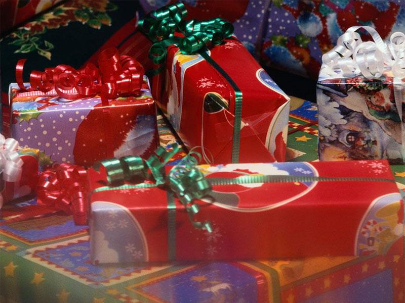 Sfondi Natale - Sfondo regali Natale