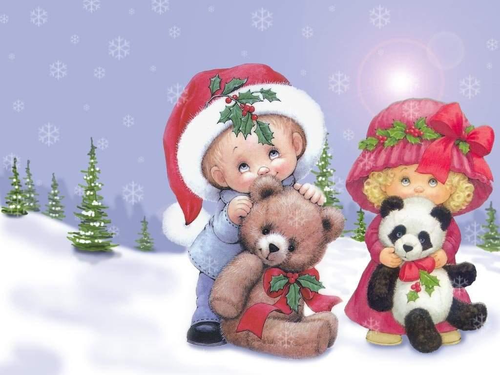 Sfondi Natalizi Per Bambini.Sfondi Natale Dolci Bambini