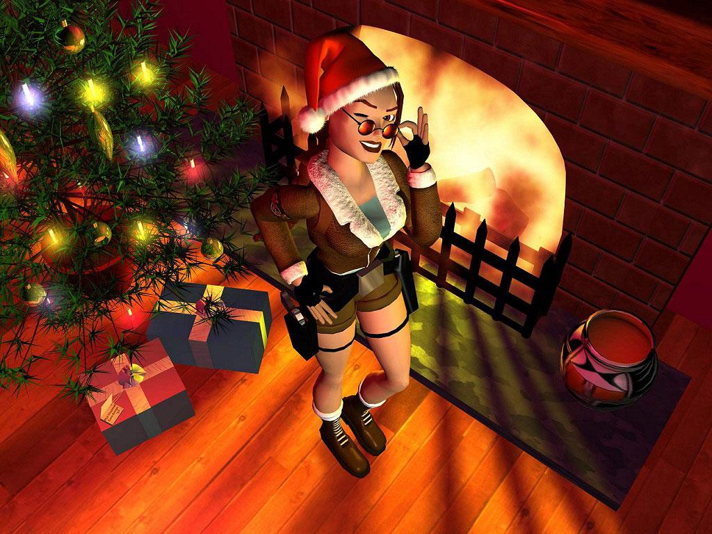 Sfondi Natale - Sfondo Desktop Natale Tomb Raider