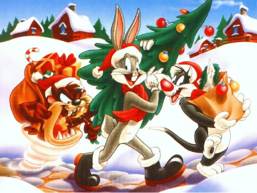 Sfondi Natale - Sfondo Desktop Natale Looney Tunes
