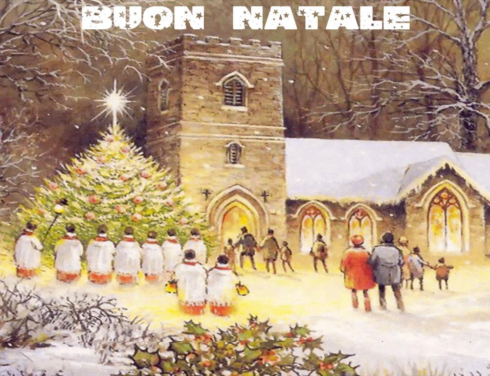 Sfondi Natale - Sfondo Paesaggio di Natale