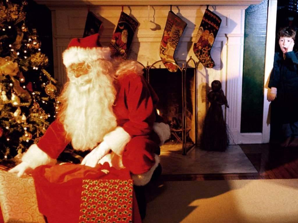 Sfondi Natale - Sfondo di Natale sorpresa