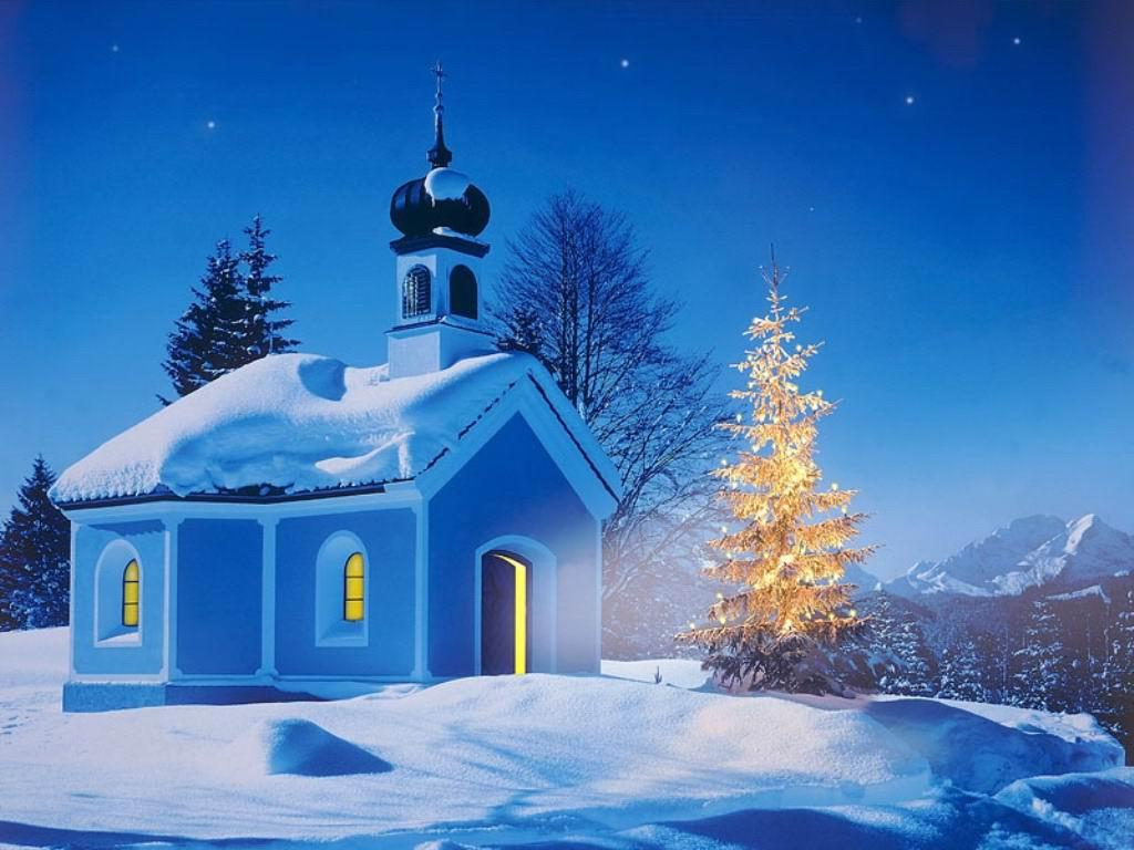 Sfondi Natale - Sfondo di Natale luminoso