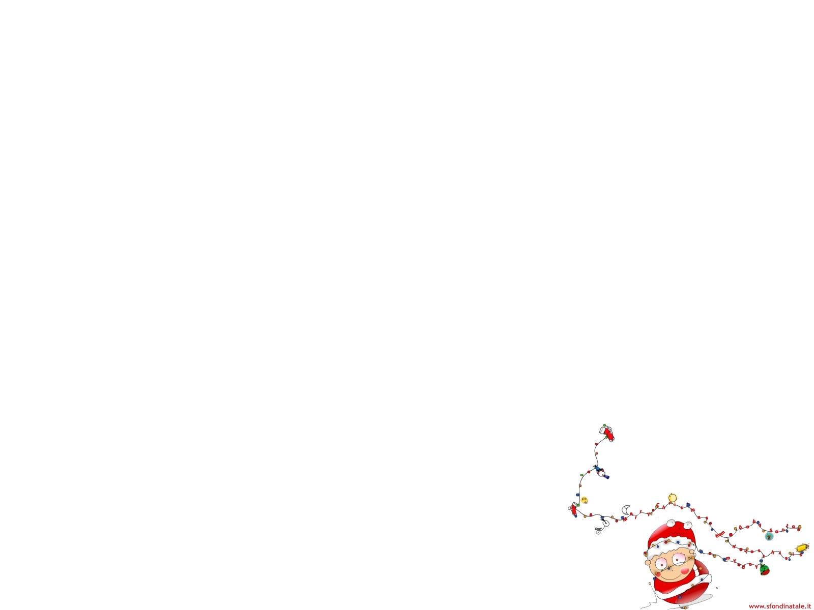 Sfondi Natale - Sfondo Babbo Natale divertente
