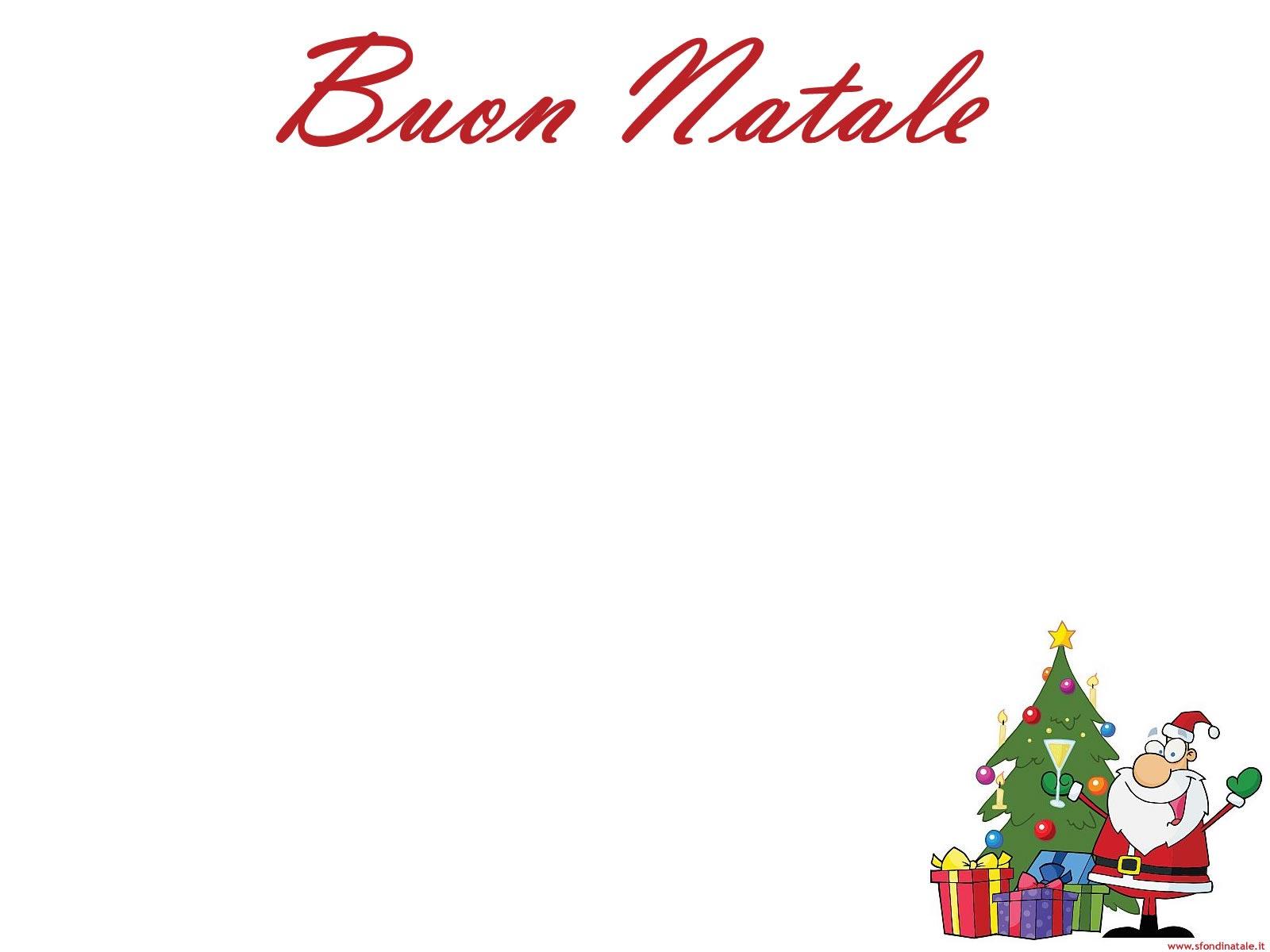 Sfondi Natale - Sfondo Babbo Natale brindisi