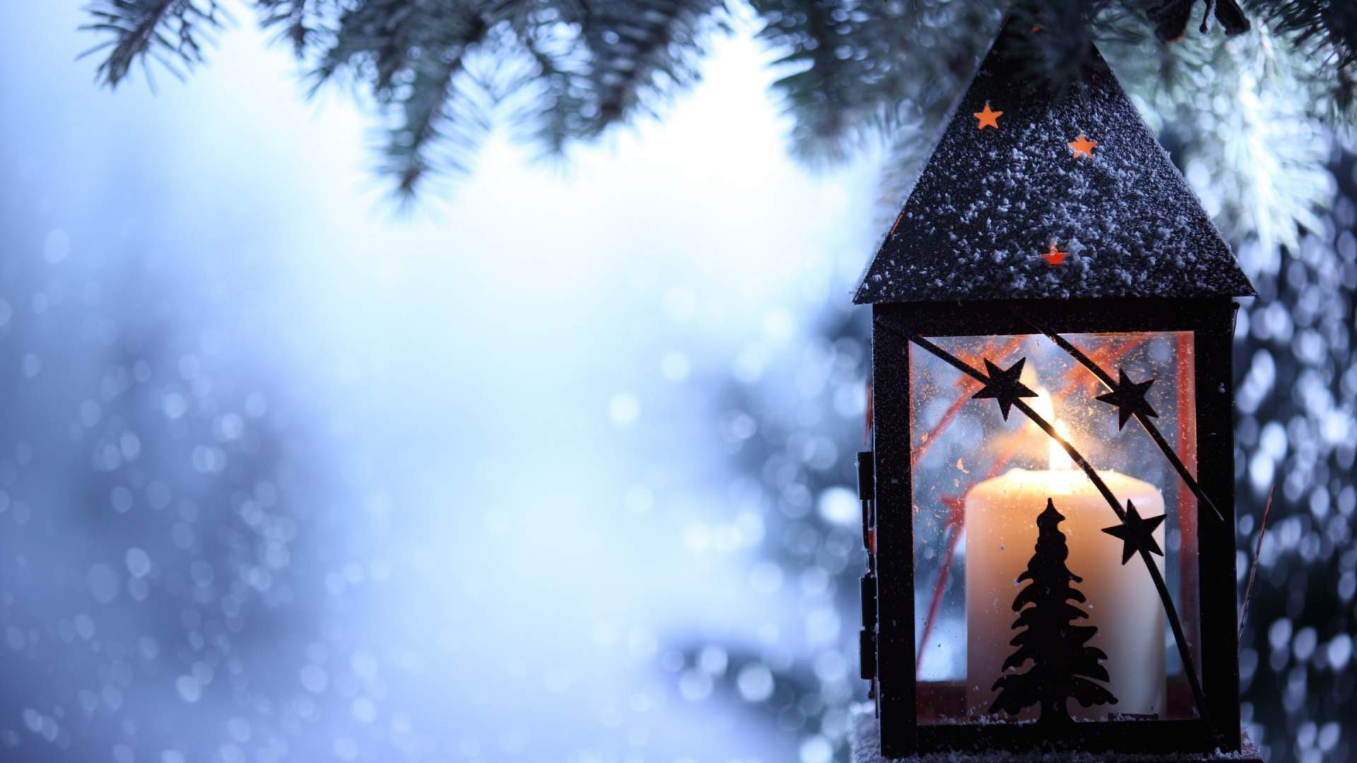 Sfondi Natale - Sfondo Desktop Lanterna Natalizia