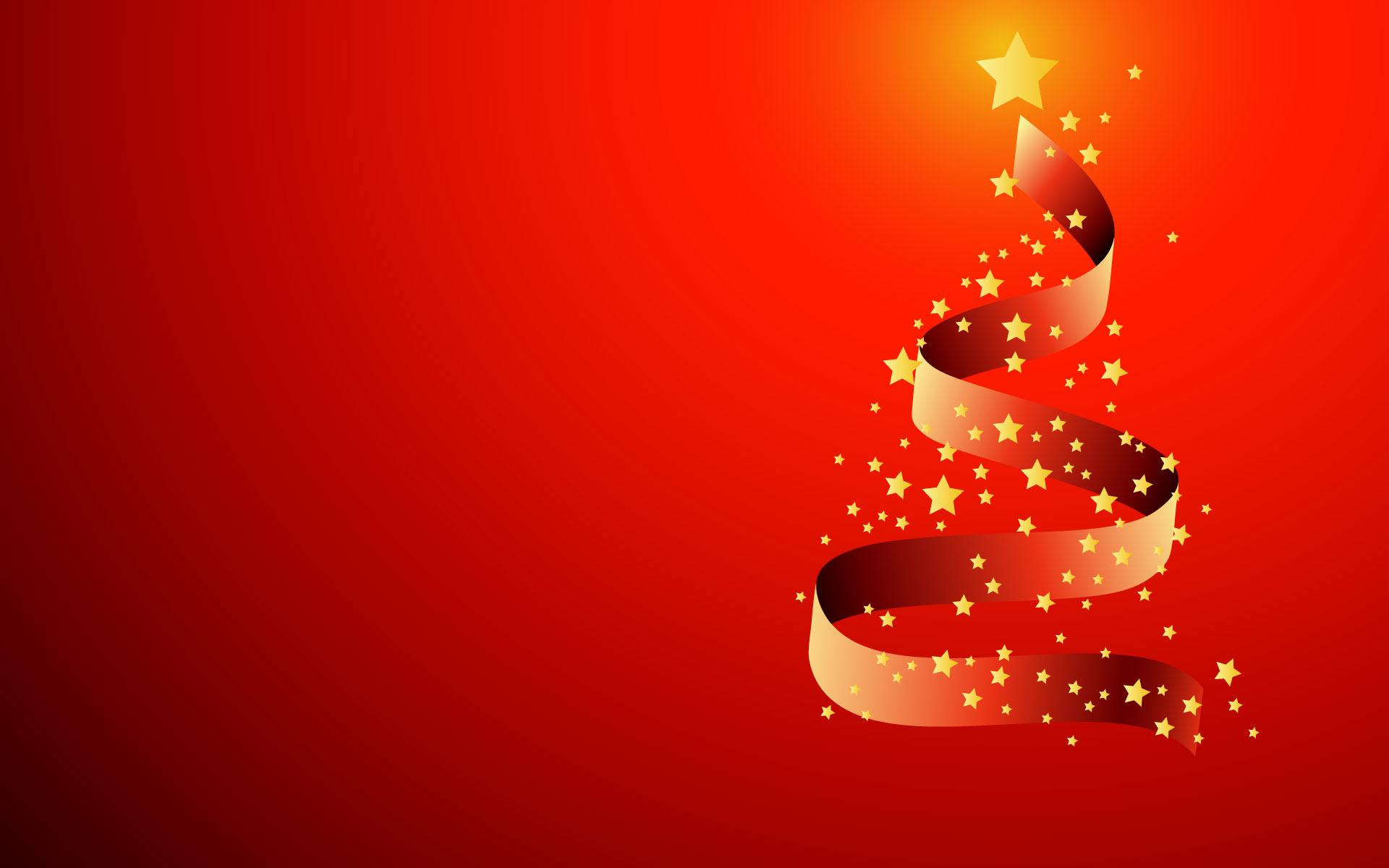 Sfondi Natale - Sfondo Natale con albero