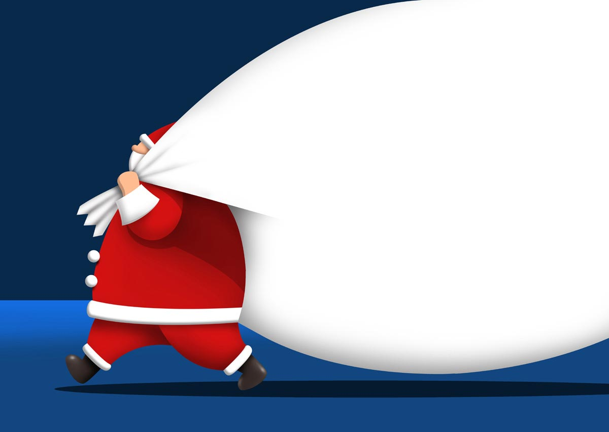 Sfondi Natale - Sfondo Babbo Natale