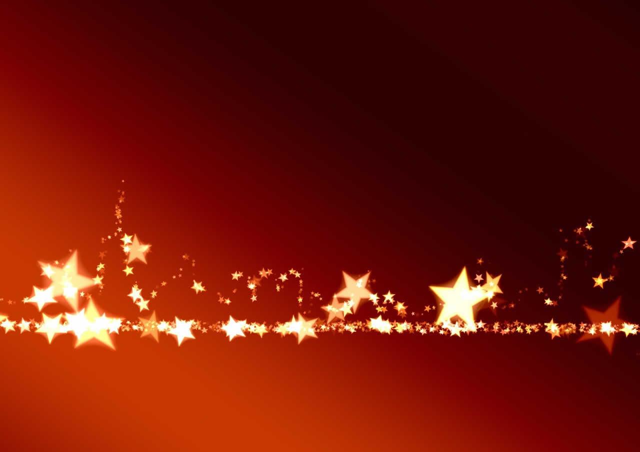 Sfondi Natale - Sfondo Natale Stelle dorate