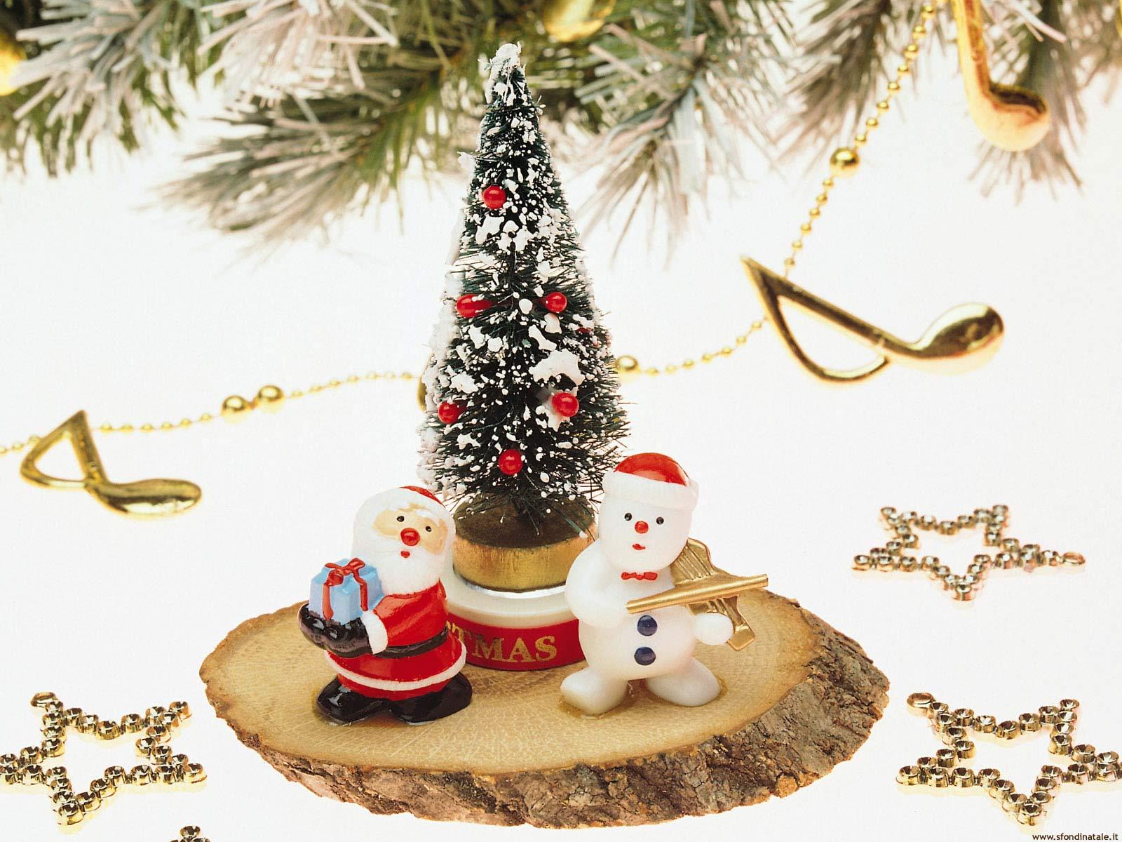 Sfondi Natale - Sfondo decorazione Babbo Natale