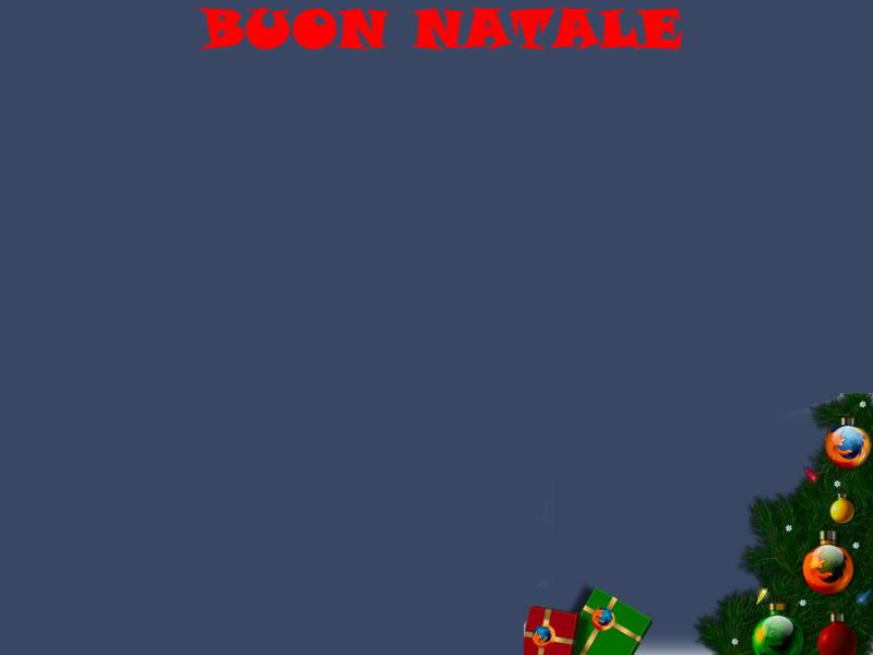 Sfondi Natale - Sfondo Natale firefox