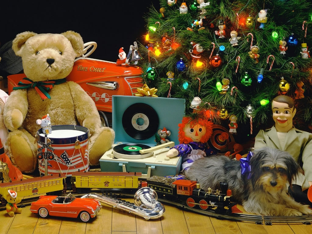 Sfondi Natale - Sfondo natale addobbi natalizi